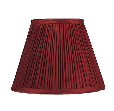 "Urbanest Coolie Mushroom Pleated Lampshade,5""x9""x7"",Faux Sil"