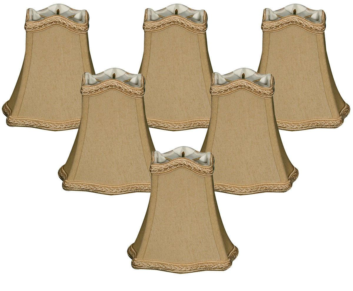 decorative trim hexagon empire chandelier shade