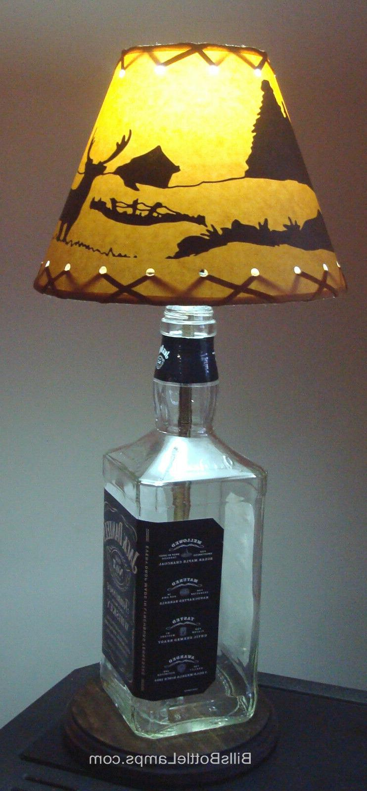 """DEER Cottage LAMP Bulb Style 9"""" inch Laced"""