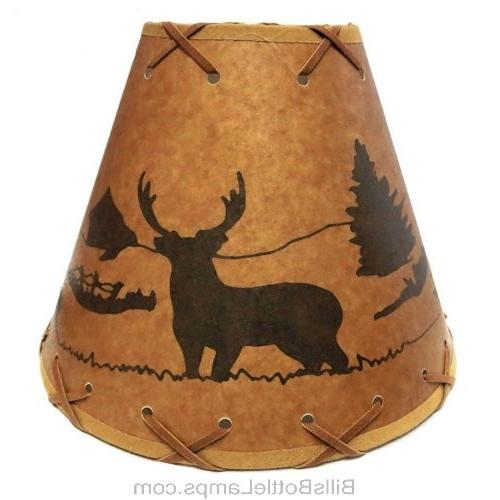 DEER Light Cottage SHADE Clip-On Bulb Laced