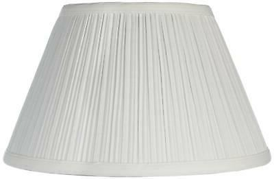 downbridge antique white pleated shade