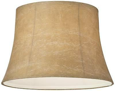 Faux Leather Drum Lamp Shade