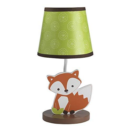 Bedtime Originals Friendly Forest Woodland Lamp with Shade &