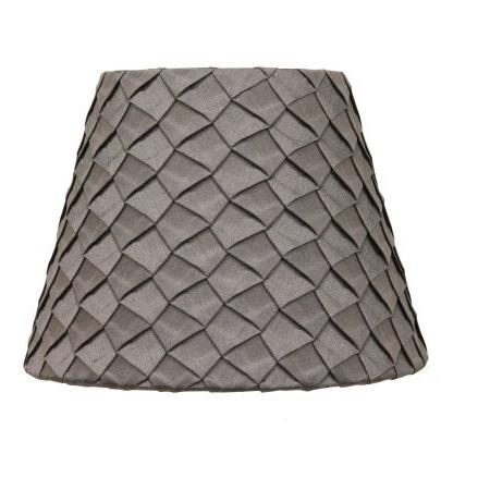 gray pleat accent shade