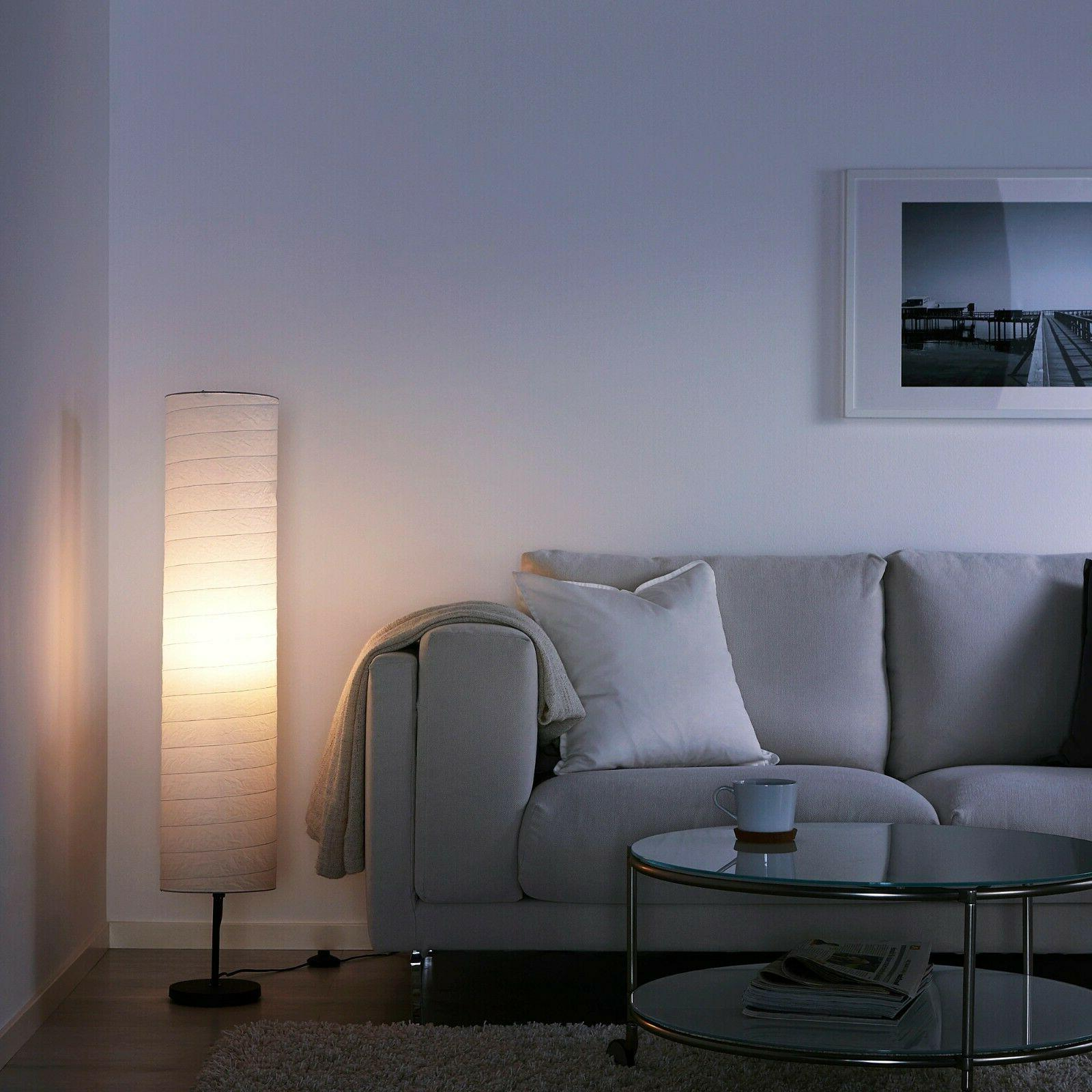 IKEA With 400 lm LED Bulb Paper Shade
