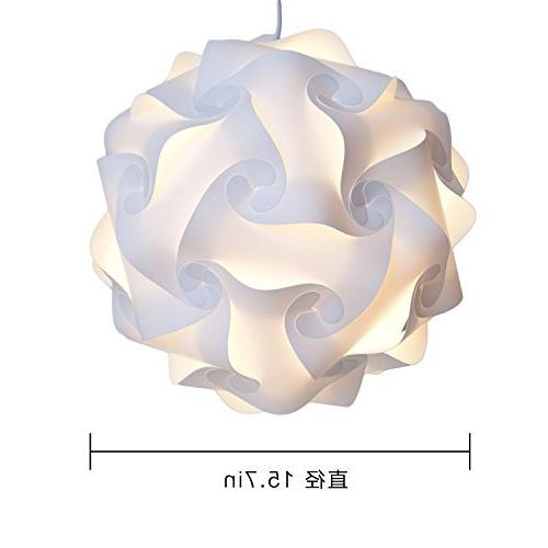 home furnishing puzzle lamp shade