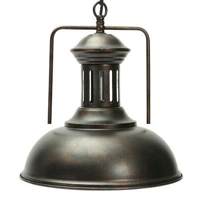 Industrial Pendant Light Fixture Chandelier Vintage
