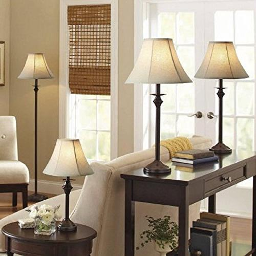 Better and Gardens 4pc Lamp