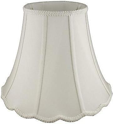 American Pride Lampshade Co. Scallop Soft Tailored Lampshade