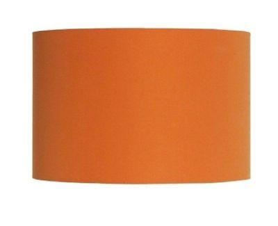 mira shade drum orange 13x9 linen fabric