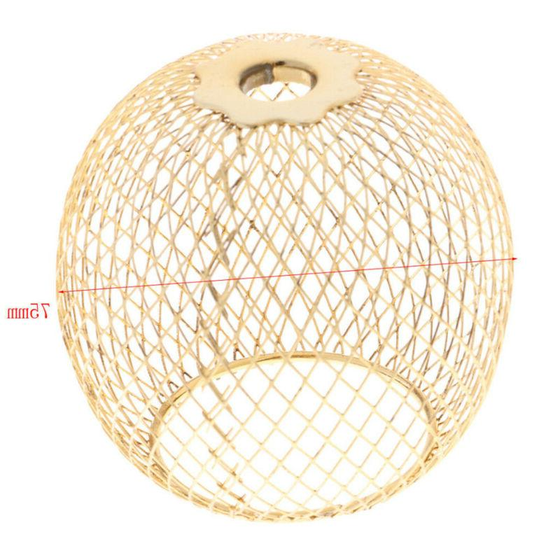 Modern Iron Shade Ceiling Lamp Cover Home Decor