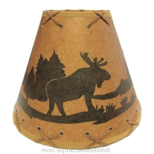 MOOSE Cabin Light SHADE Bulb Laced Cone