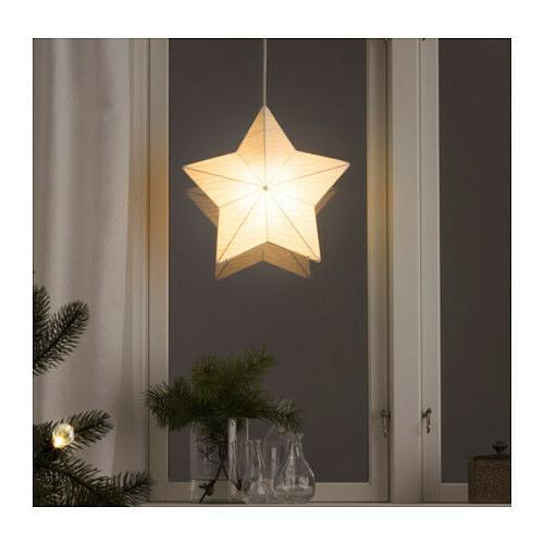 NEW IKEA CHRISTMAS STRALA PENDANT LAMP SHADE DECORATION