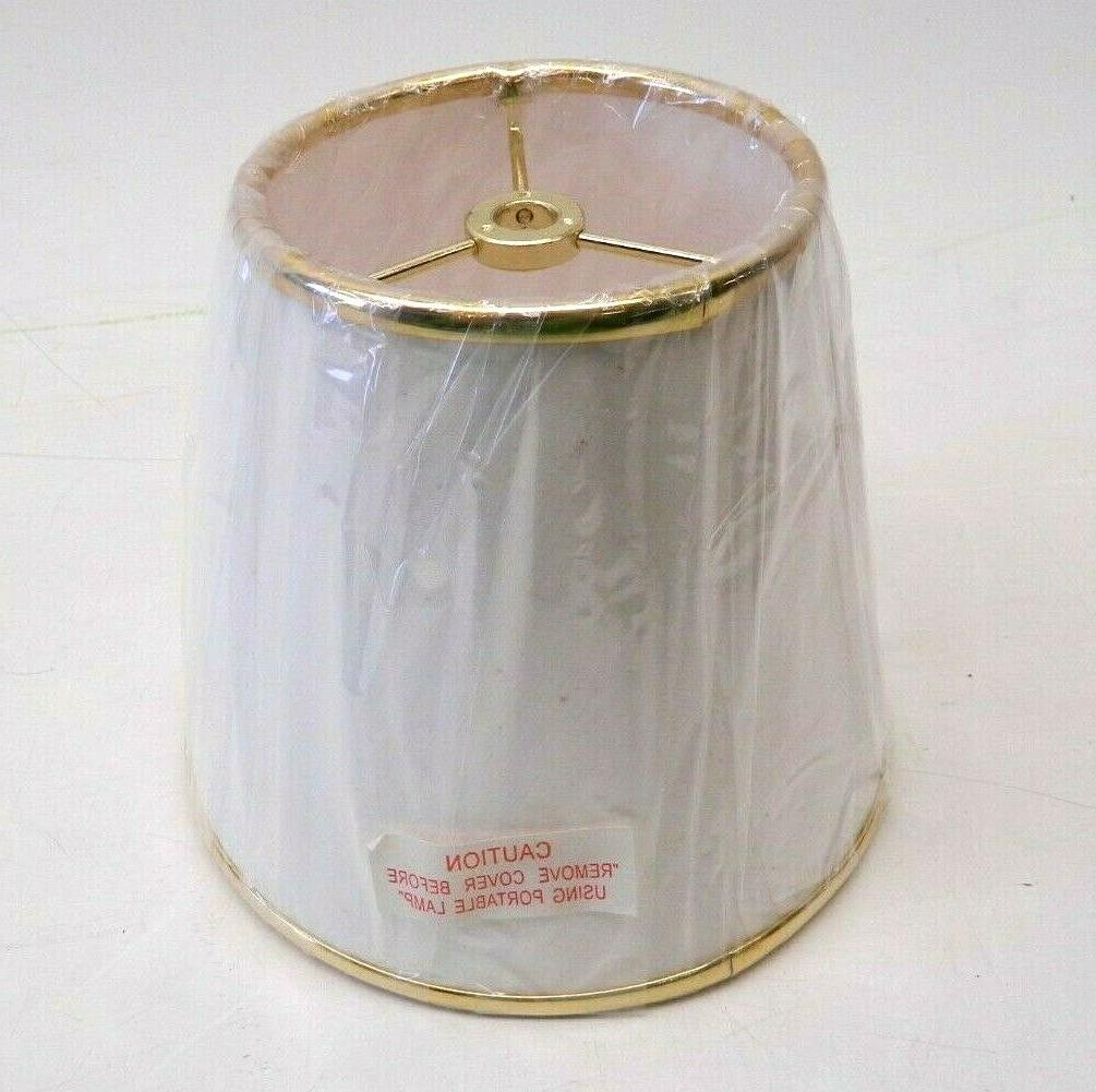 NEW Fabric Small Lampshade for Table X 6.5