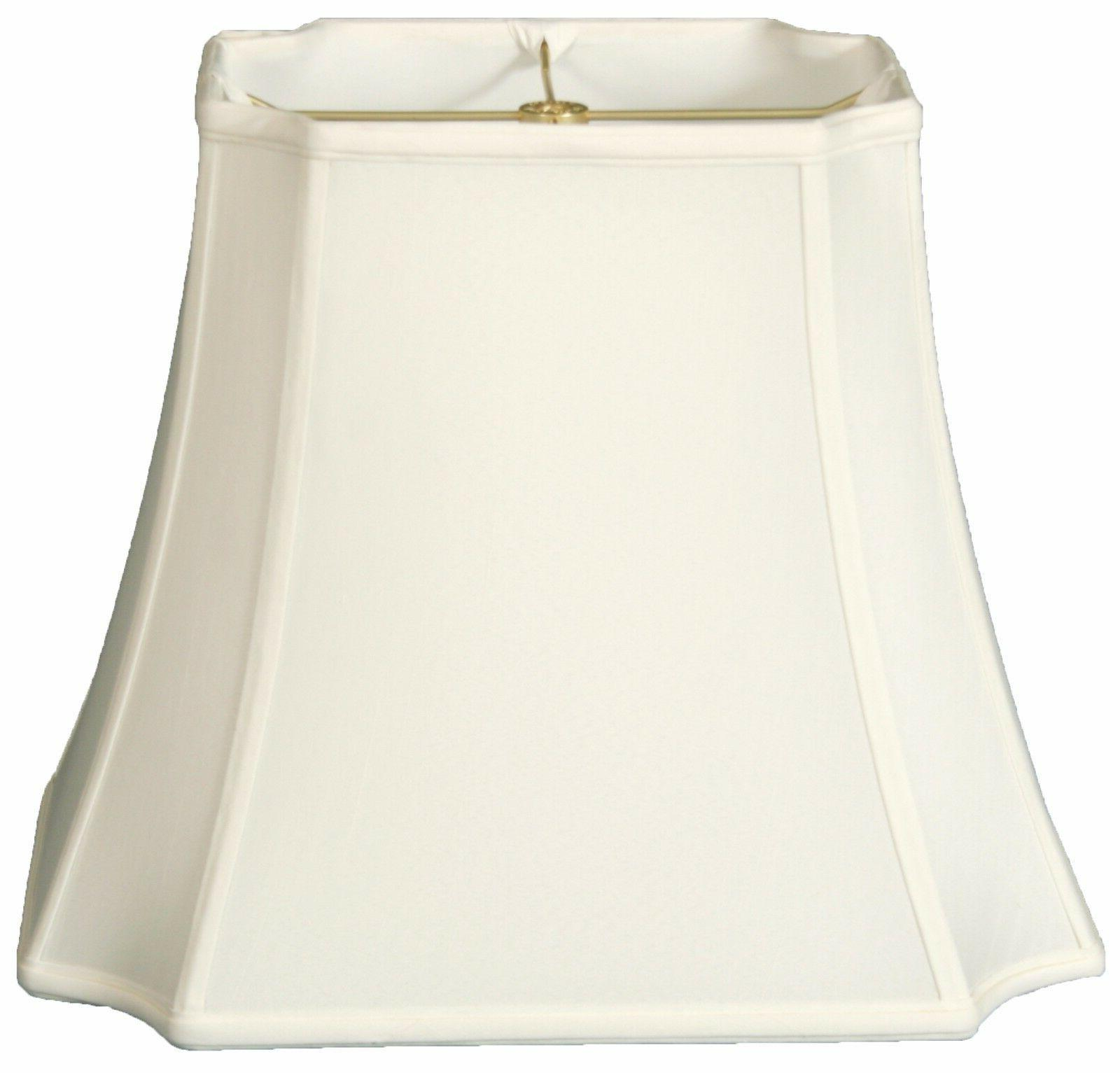 rectangle inverted cut corner lamp shade bs