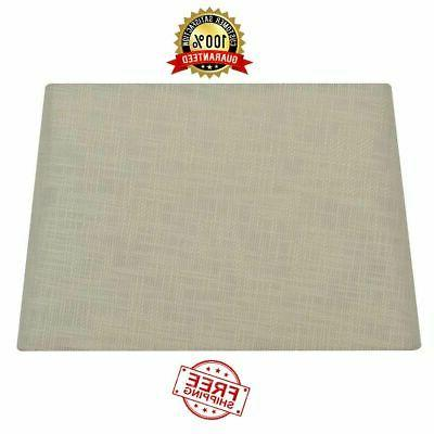 """Rectangle Lamp Shade For Large Base 10"""" X 15"""" Textured Cream"""