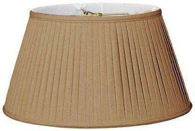 Royal Designs, Inc BS-720-19AGL 6-Way Side Pleat Basic Lamp