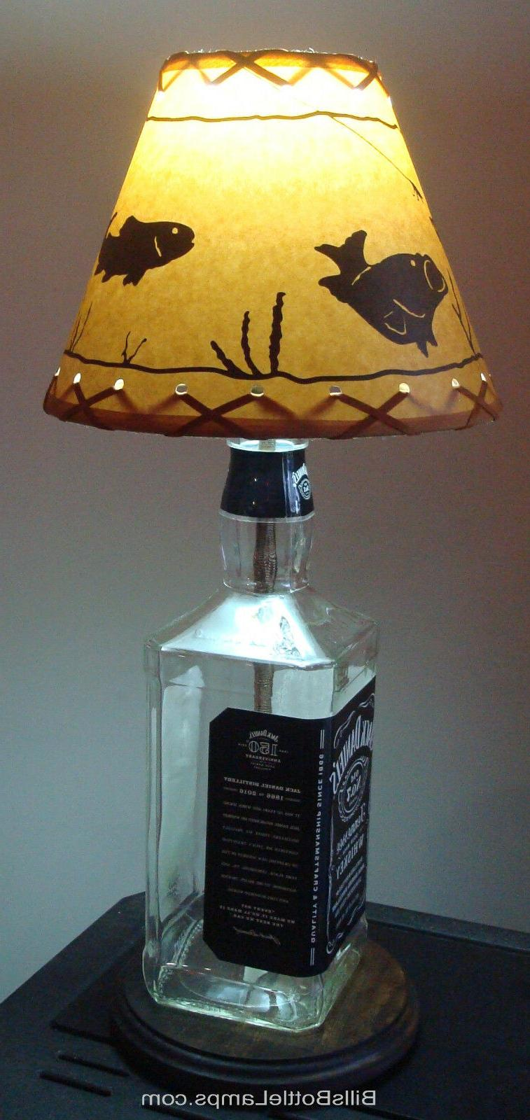 "Rustic ""Bulb Clip"" Scene Table LAMP Decor"