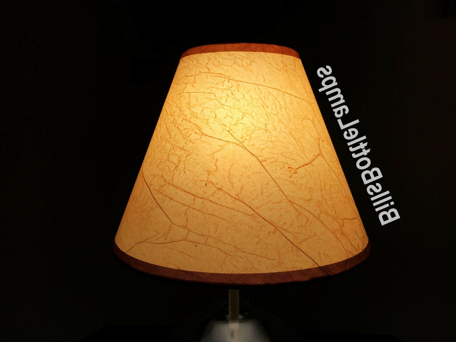 """Rustic Cottage Light Bulb Style 9"""" inch Cone"""