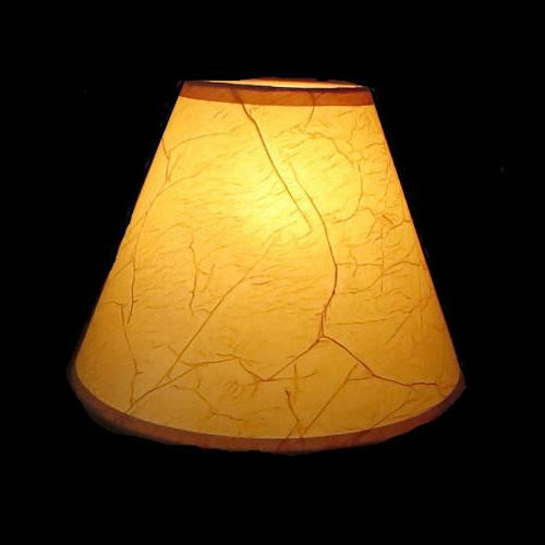 Rustic Cottage Table Light Cone