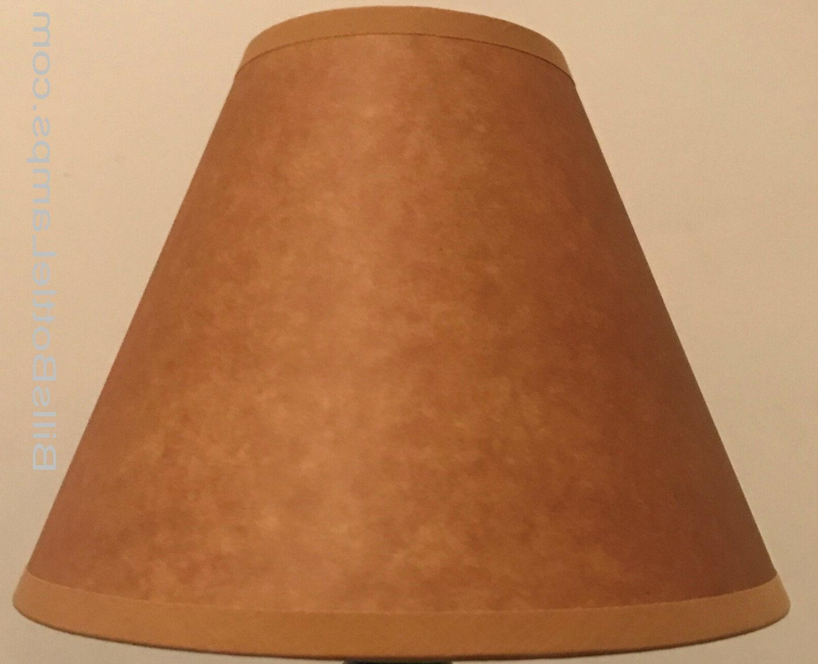 Rustic Table Light LAMP SHADE Oil Clip-On inch