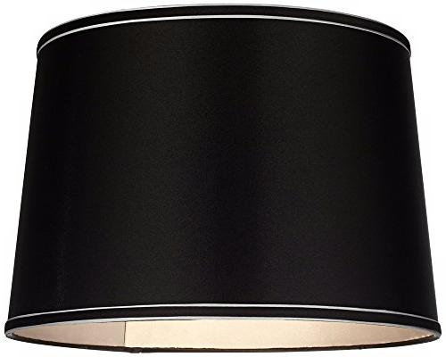 Sydnee Collection Satin Drum Shade 14x16x11