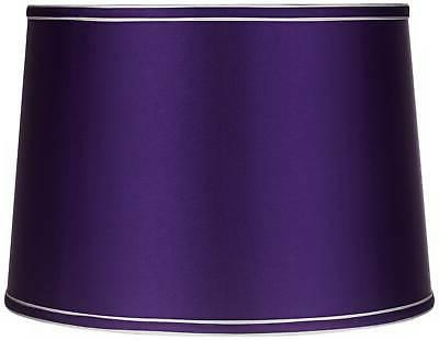 sydnee satin dark purple drum