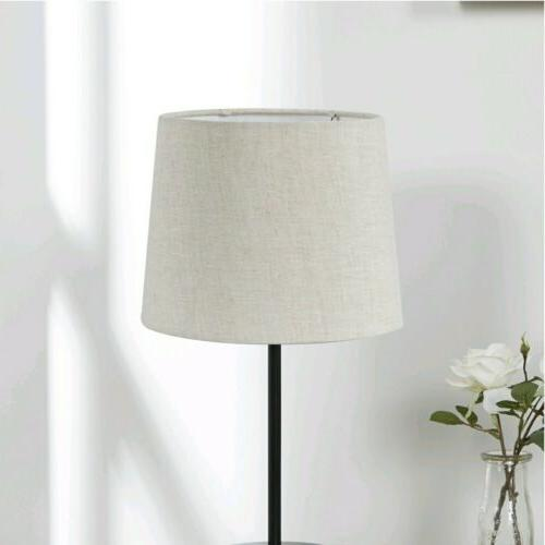 textured beige lamp shade 2 pack