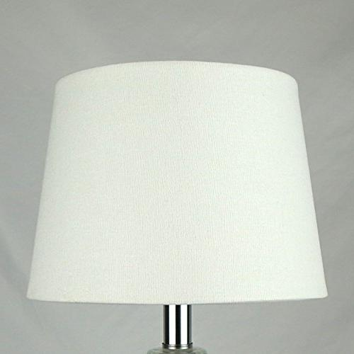 uno fitter white fabric lampshade