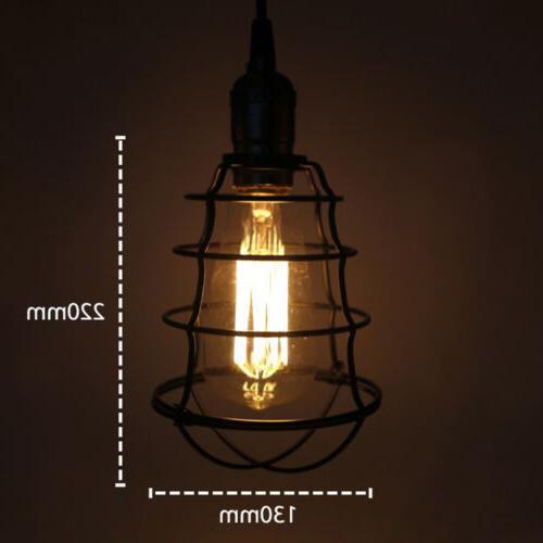 Vintage Industrial Lamp Retro Pendant Living Ceiling Light Fixtures