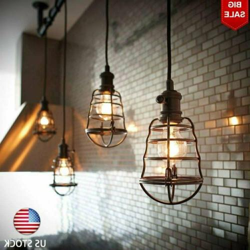 vintage industrial pendant retro home ceiling light