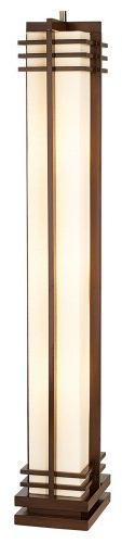 Possini Euro Design Deco Style Column Floor Lamp