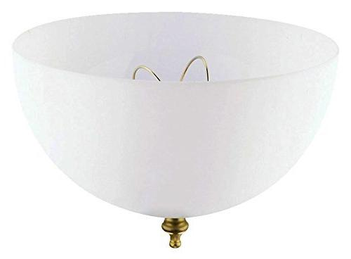 """Westinghouse Shade 3/4"""" In. Dia White"""