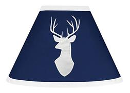 Sweet Jojo Designs Lamp Shade for Navy Blue, Mint and Grey W