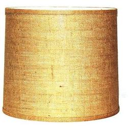 Lamp Shades A Ray Of Light 151610BUR Brown Burlap Wide Width