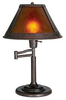 Cal Lighting BO-462BO-462 Table Lamp with Mica Glass Shades,