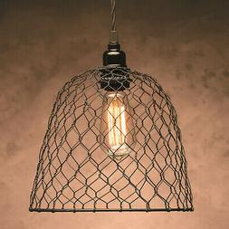 Darice Metal Chickenwire Dome Lampshade 10 X 8.25 Inches Bla