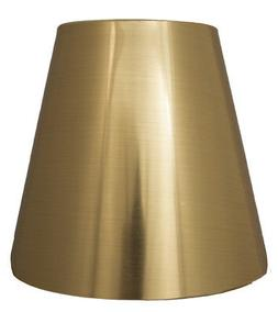metallic hardback chandelier lamp shade 3x5x4 5