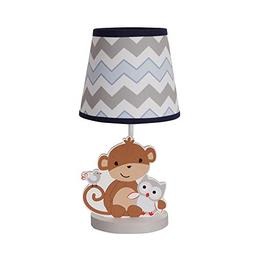 Bedtime Originals Mod Monkey Lamp with Shade and Bulb NO TAX