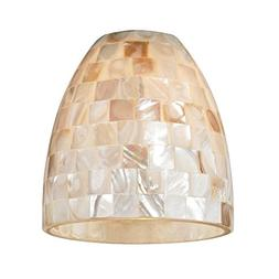 Mosaic Dome Glass Shade - Lipless with 1-5/8-Inch Fitter Ope