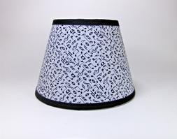 Music Musical Note Fabric Handmade Lampshade Lamp Shade