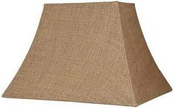 Natural Burlap Rectangle Lamp Shade 5/8X11/14X10