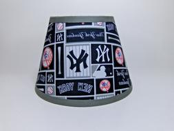 New York Yankees MLB Baseball Cotton Fabric Sports Lamp Shad