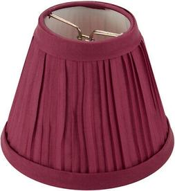 Darice Pleated Cloth Covered Lampshade 2.5 X 4 X 5 Inches Bu