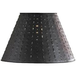 Punched Tin Lamp Shade - Dot Dash Pattern by Park Designs 10