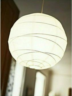 IKEA REGOLIT Pendant Lampshade Paper Light Shade Wire Shaped