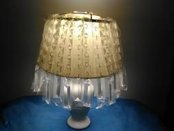 IKEA RIMFROST CRYSTAL-GLASS CHANDELIER OR LAMPSHADE {NIP}