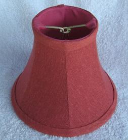 Rose Textured Fabric Chandelier Lamp Shade. traditional, any