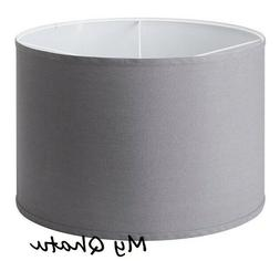 rullan fabric lamp shade gray 18 new