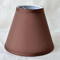 Urbanest Satin Chandelier Mini Lamp Shade 6-inch, Hardback,